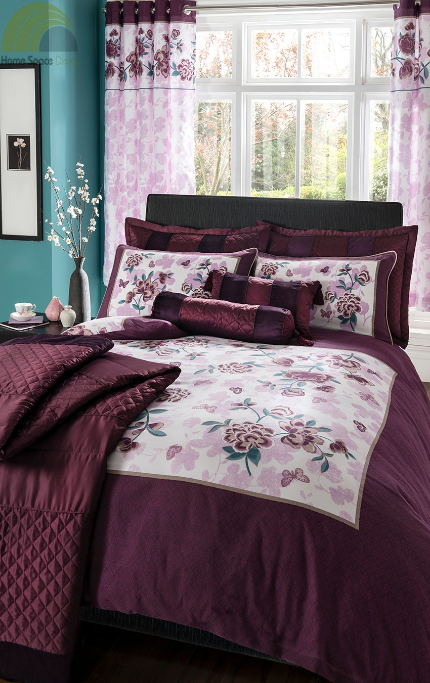 Purple Plum Duvet Cover Bedding Bed Set Amp Or Curtains Or