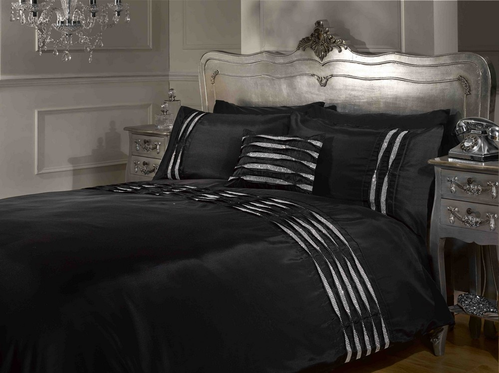 silk item linen black king sets china write used satin covers bed luxury double bedding duvet cold size summer