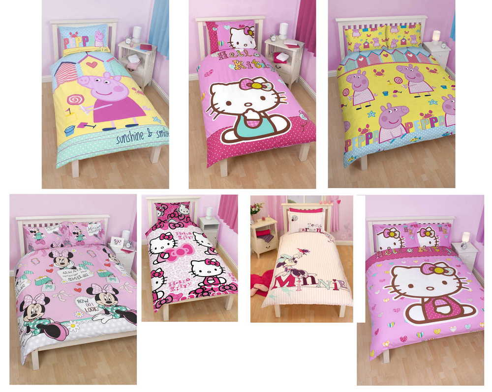 ... -Childrens-Character-Single-and-Double-Duvet-Cover-Bedding-Bed-Sets: www.ebay.co.uk/itm/Girls-Kids-Childrens-Character-Single-and-Double...