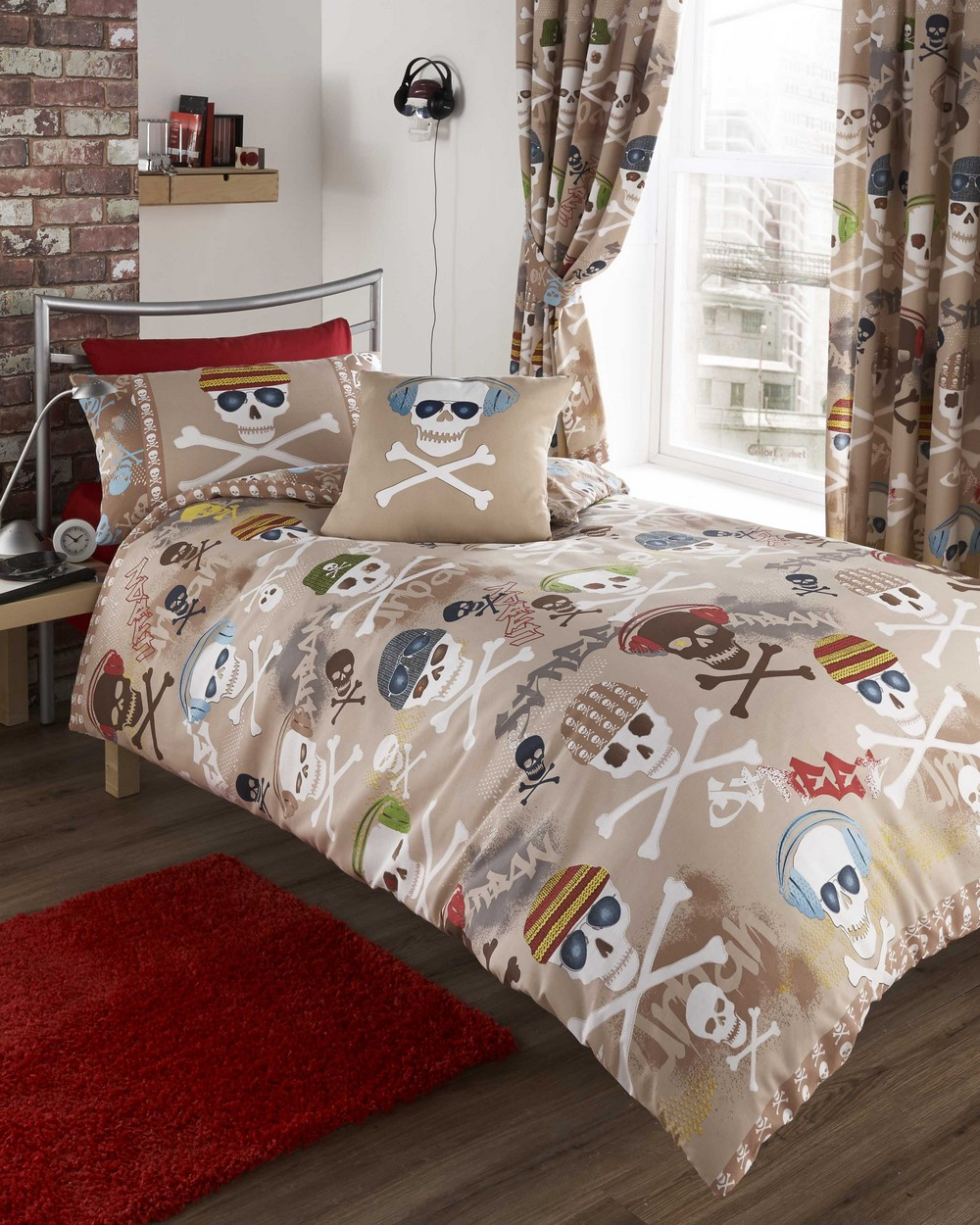 Boy S Quilt Duvet Cover Bedding Sets Single Or Double: Street Beats Duvet Cover Bed Sets Bedding Curtains Teenage